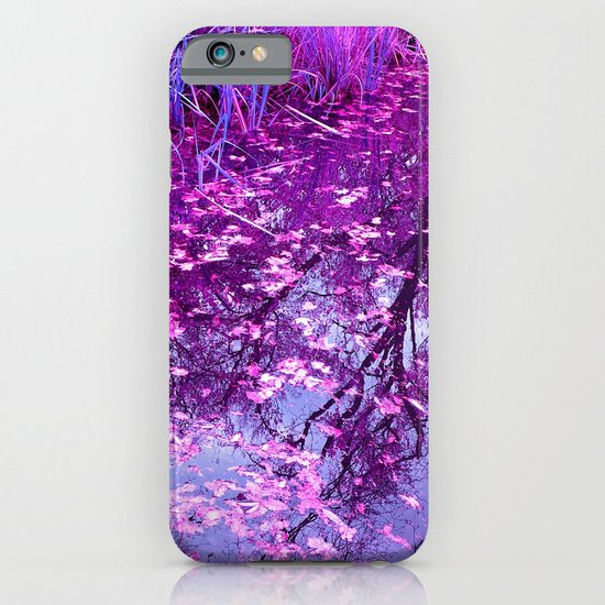 purple garden pond I iPhone & iPod Case