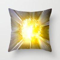6000 Grad Celsius. Throw Pillow
