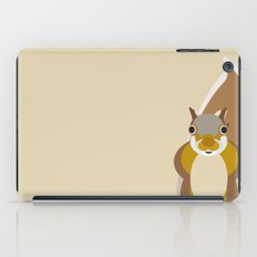 Squirrel Pattern iPad Case