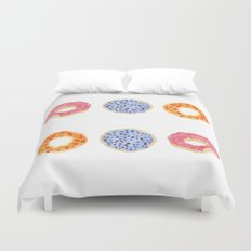 doughnut selection Duvet Cover