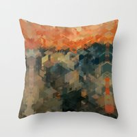 Panelscape Iconic - The … Throw Pillow