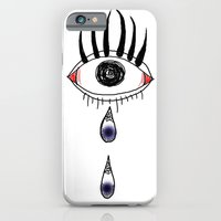 iPhone & iPod Case featuring eye by Kate Kang