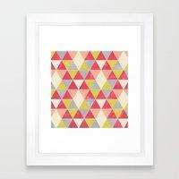 Tri-Frenzy Framed Art Print