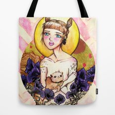 Fawning In Your Eyes Tote Bag