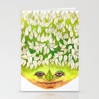 Majestic Leaf Stationery Cards