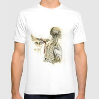 Bones Mens Fitted Tee White SMALL