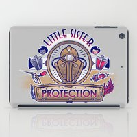 Little Sister Protection iPad Case