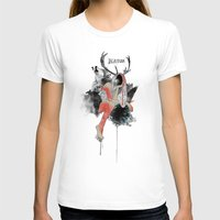 Natura Womens Fitted Tee White SMALL