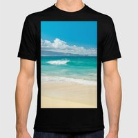 Hawaii Beach Treasures Mens Fitted Tee Black SMALL