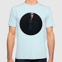 The Boogeyman Mens Fitted Tee Light Blue SMALL