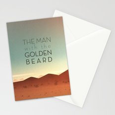 The Man with the Golden Beard Stationery Cards