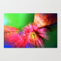 Psychedelic Poppies Canvas Print