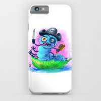 iPhone & iPod Case featuring pirate worm by petipoa