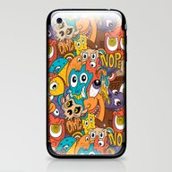 Weird Guys Pattern iPhone & iPod Skin