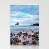 Bass Rock And The Beacon Stationery Cards