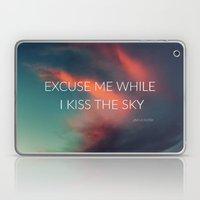 Kiss The Sky II Laptop & iPad Skin