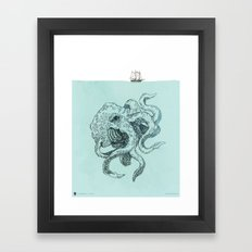 Beast of the Deep Framed Art Print