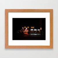 Roadhouse.  Framed Art Print