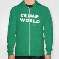 Crime World Logo Hoody