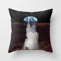 ERUTNEVDA Throw Pillow