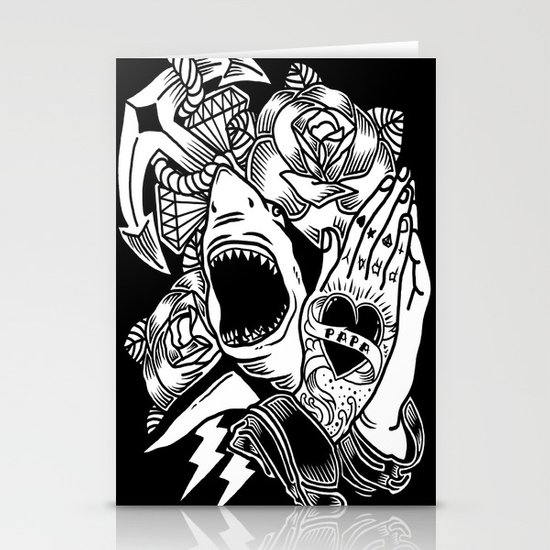 tattoo Stationery Card