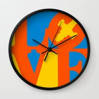 KEEPS HER IN THE AIR Wall Clock