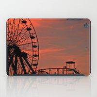 Sundown in Fun Town iPad Case