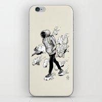 Dream Walking iPhone & iPod Skin