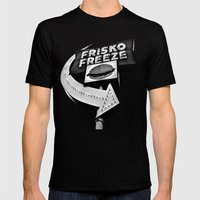 Frisko Freeze Mens Fitted Tee Black SMALL