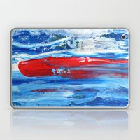 Hunting the Red Whale Laptop & iPad Skin