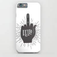 HELLO ASSHOLE iPhone 6 Slim Case