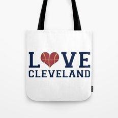Love Cavs Tote Bag