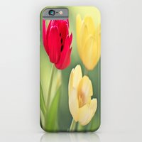 iPhone & iPod Case featuring Red & Yellow Tulips by Creativemind06