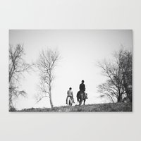 Horse Riders Canvas Print