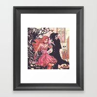 Halloween Temptation Framed Art Print