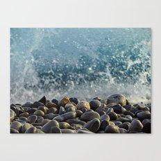 splash of waves Canvas Print