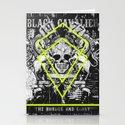 black cavalier Stationery Cards