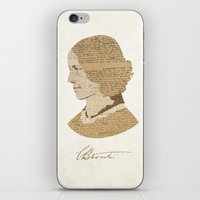 Charlotte Bronte  iPhone & iPod Skin