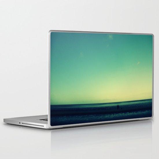 The long walk Laptop & iPad Skin