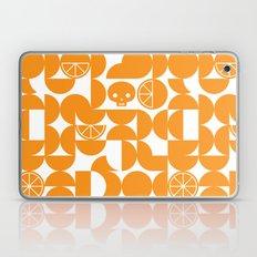 CITRUS SKULL - TANGERINE Laptop & iPad Skin