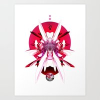 Another Photoshop Robot … Art Print