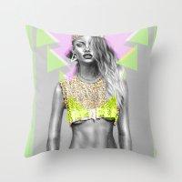 + WARPAINT + Throw Pillow
