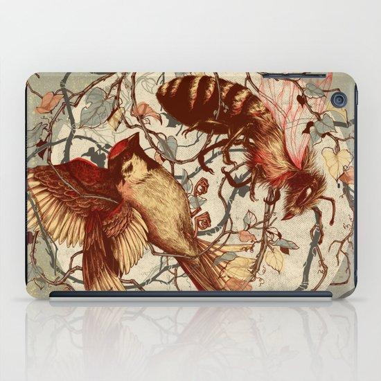 Honey & Sorrow (grey) iPad Case
