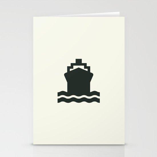 Ship Stationery Card