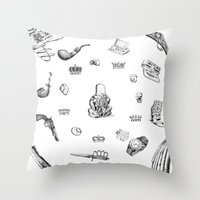 Necke Throw Pillow