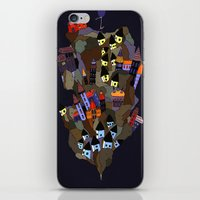 Floating Rock iPhone & iPod Skin