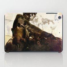 Black idol iPad Case