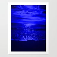 Bright Reflections Night… Art Print