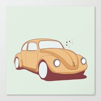 What's Up BUG Canvas Print