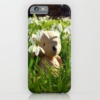 iPhone & iPod Case featuring Amongst the Snowdrops by Palin